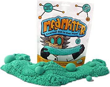 MAD MATTR Super-Soft Modelling Dough Compound That Never Dries out by Relevant Play, 10 Ounces, Teal: Amazon.es: Juguetes y juegos