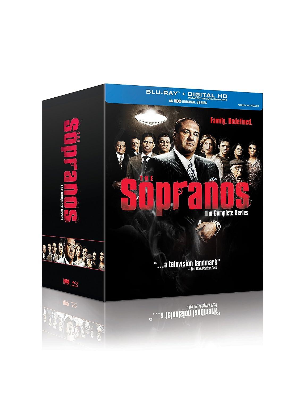 Amazoncom The Sopranos The Complete Series Blu Ray