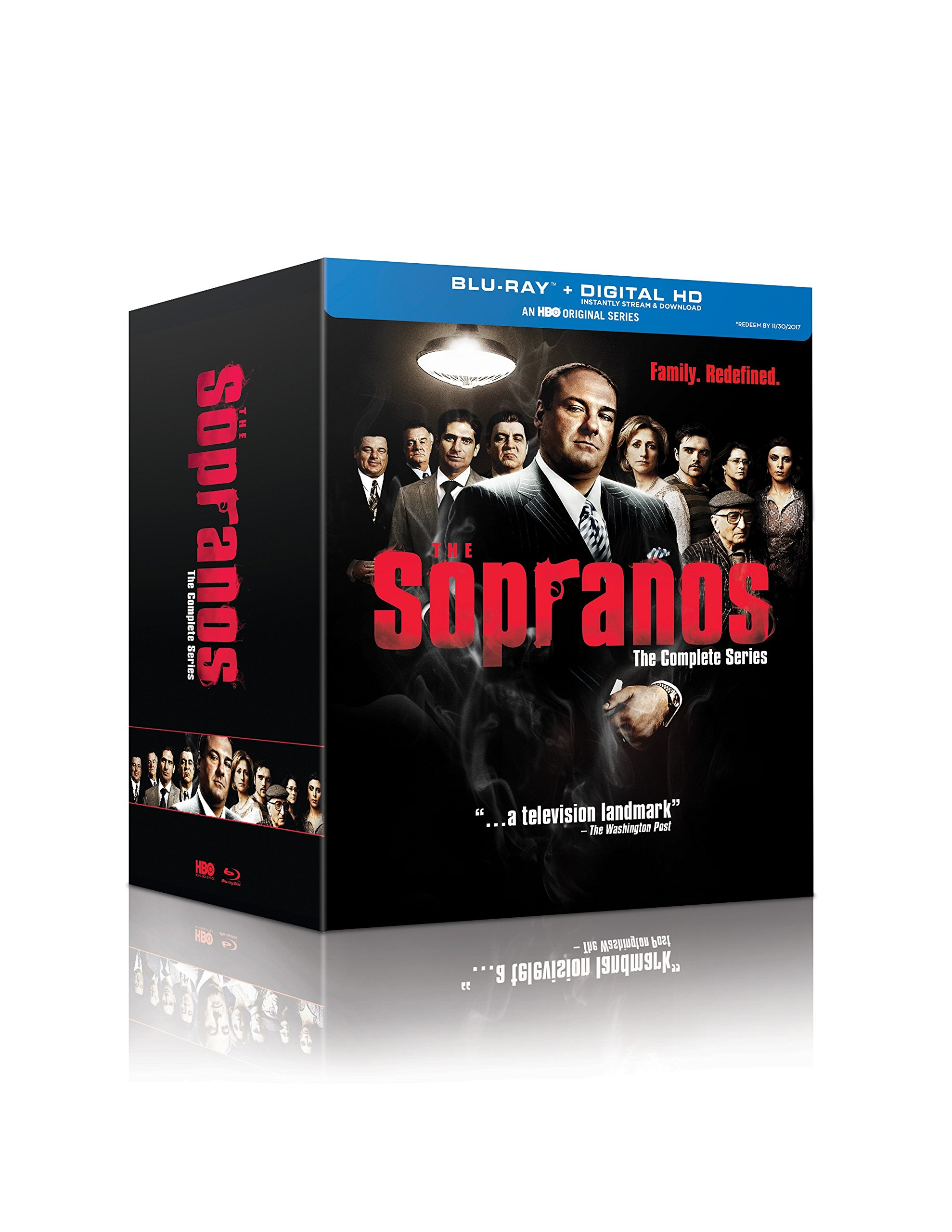 Blu-ray : The Sopranos: The Complete Series (Boxed Set, , Slipsleeve Packaging, 28 Disc)