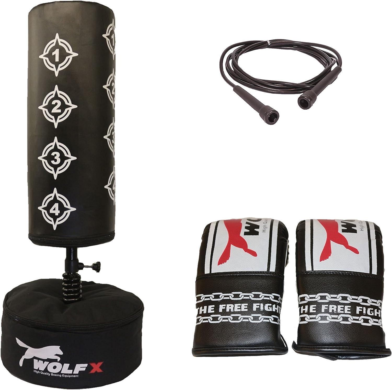 Gift Kids Boxing FREE STANDING Punch bag Set Freestanding Junior Punchbag Kit