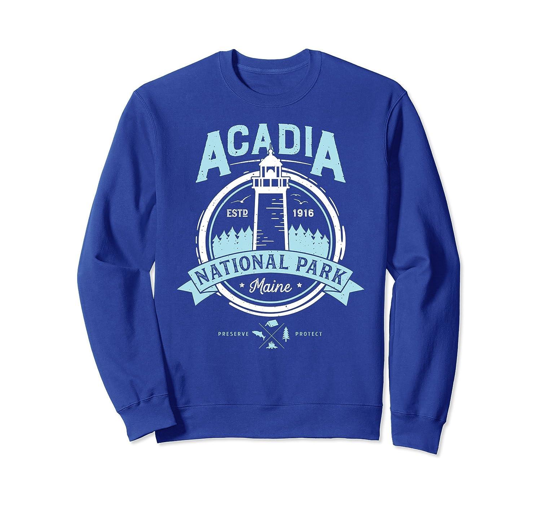 Acadia Sweatshirt National Park Maine Vintage Men Women Gift-ln