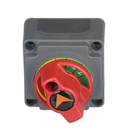 attwood 14230-3 Marine Boat 4-Way Battery Selector Switch