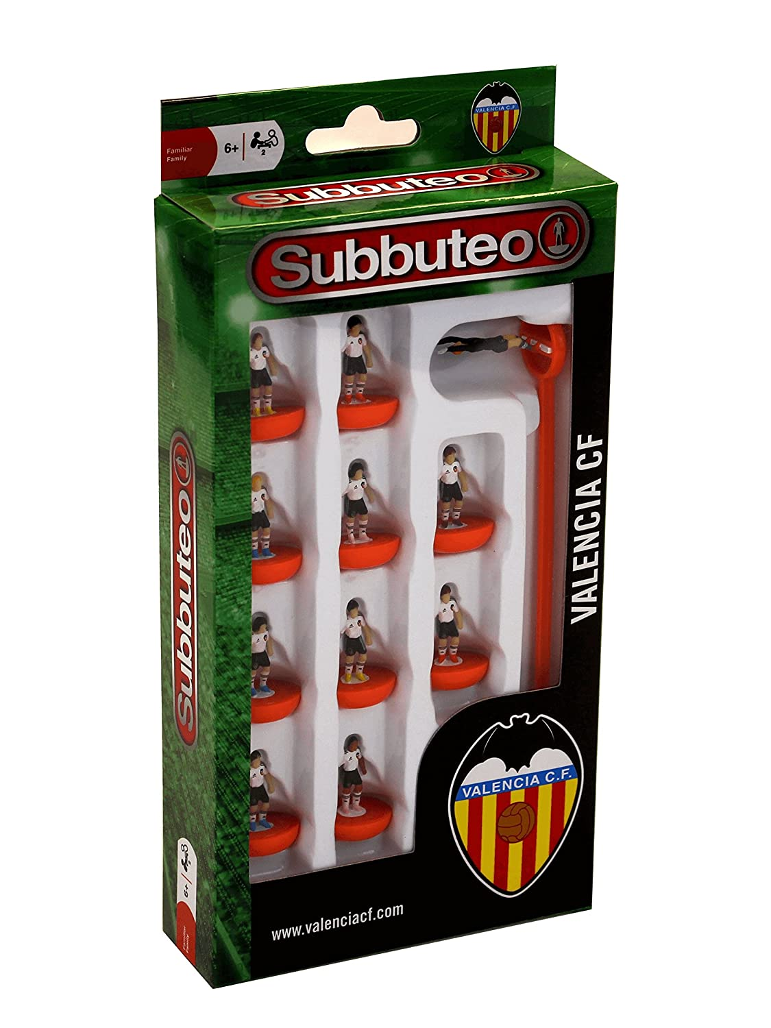 Subbuteo - Team Box, Valencia CF (Eleven Force 81236): Amazon.es: Juguetes y juegos