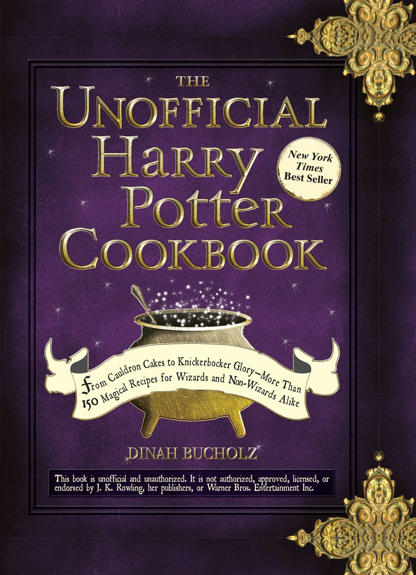 Unofficial Harry Potter Cookbook Knickerbocker product image