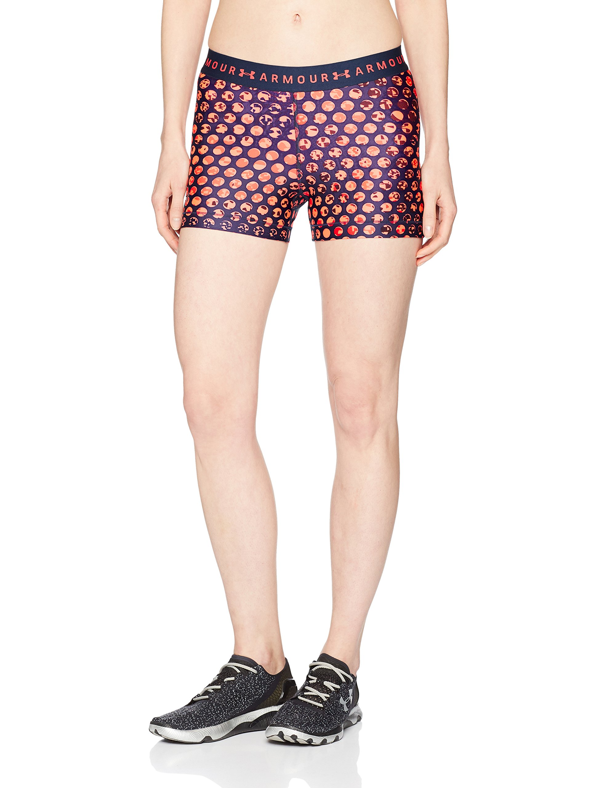 Under Armour Women's HeatGear Armour Printed Shorty, Academy (408)/Academy, X-Small by Under Armour
