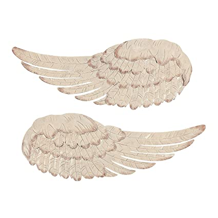 Amazon Com Fun Express Metal Angel Wing Wall Decor Home Decor