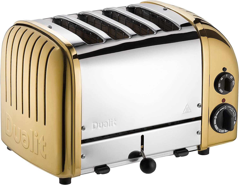 Dualit 47441 NewGen Toaster, Brass