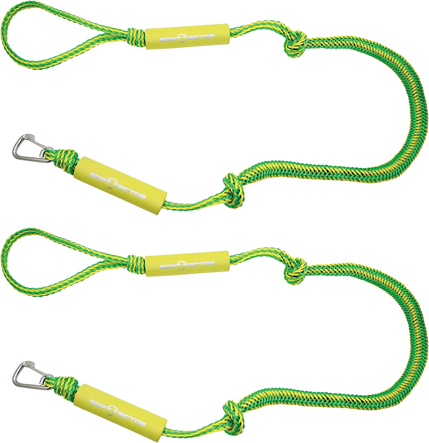 Extreme Max BoatTector PWC Dock Line Value 2-Pack with 7 and 14 Lengths