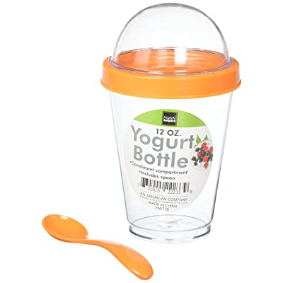 Kole HW778 Yogurt Cup, Regular, Assorted: Kitchen & Dining
