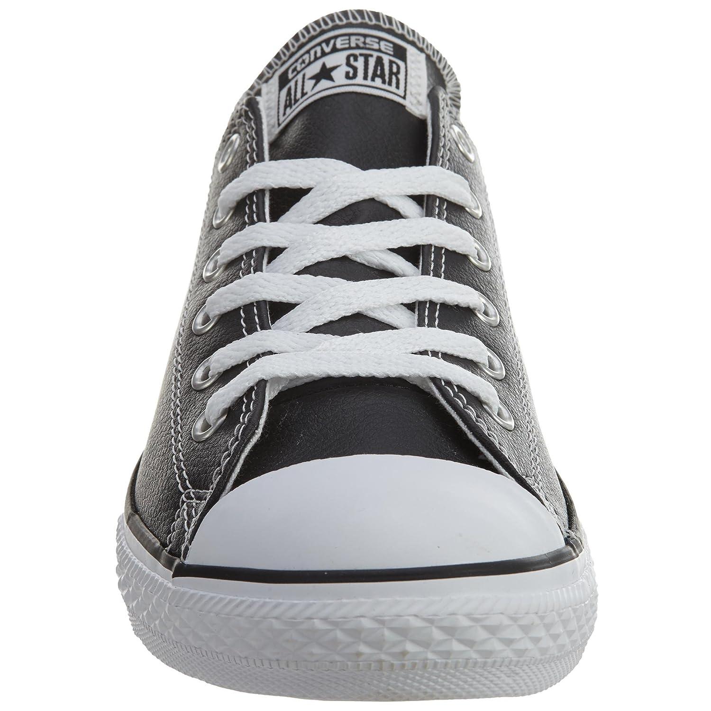 Converse Season Chuck Taylor All Star Season Converse Ox, Unisex Sneaker Black/White Leather 7b4d20