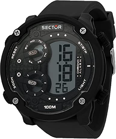 SECTOR Reloj Hombre de Digital con Correa en Silicona R3251571002