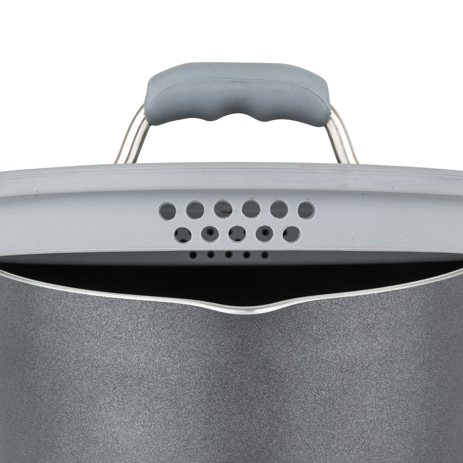 Chopped 60141-9990-GRY Aluminum Cookware Set, 10 Piece, Gray by Chopped (Image #3)