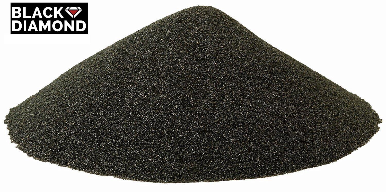 Black Diamond Blasting Coal Slag Abrasive, Fine Grade, 20/40 Grit (50 lbs)