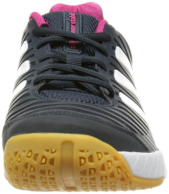 official photos c2b53 24439 Adidas Adipower Stabil 10.1 Womens Innen Gerichtsschuh - 38 Amazon.de  Schuhe  Handtaschen