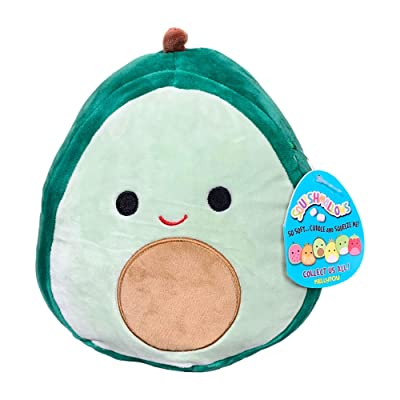 Squishmallow 8 Inch Austin The Avocado Plush Toy, Super Pillow Soft Plush Stuffed Animal, Green: Home & Kitchen