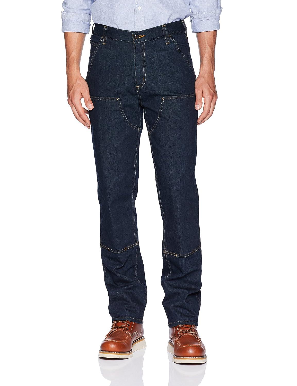 Carhartt Mens Rugged Flex Relaxed Straight Cut Denim Jeans