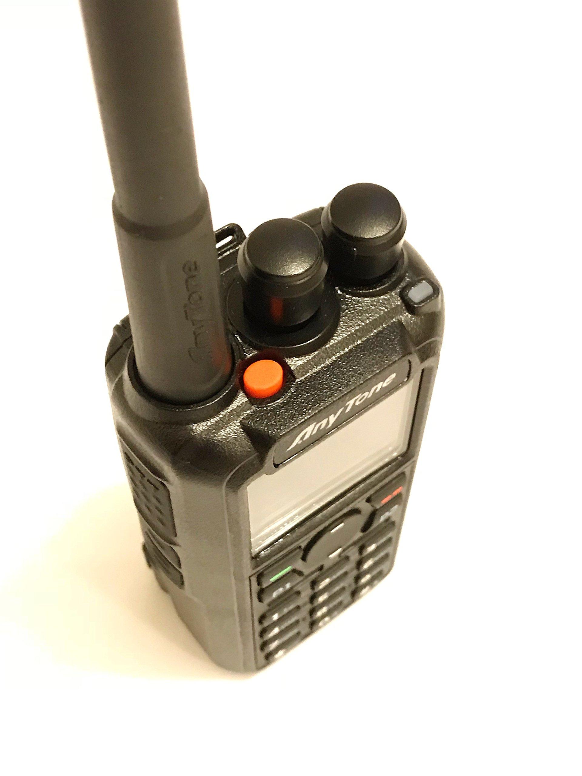 AnyTone AT-D868UV GPS Version II Upgraded 3100mAh battery Dual Band DMR/Analog 144 & 430 MHz Radio US Seller by AnyTone (Image #7)