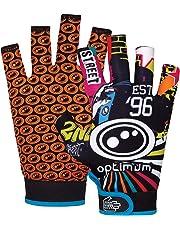 Optimum Original Skit Mits Rugby Gloves, , Multi-coloured, Small