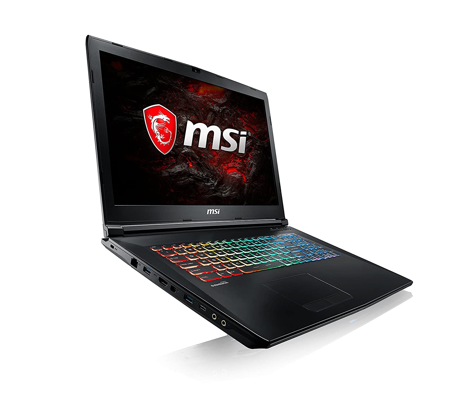 MSI GP72 7REX Notebook, Display da 17.3, i5-7300HQ, RAM 16 GB DDR3, HDD 1128 GB