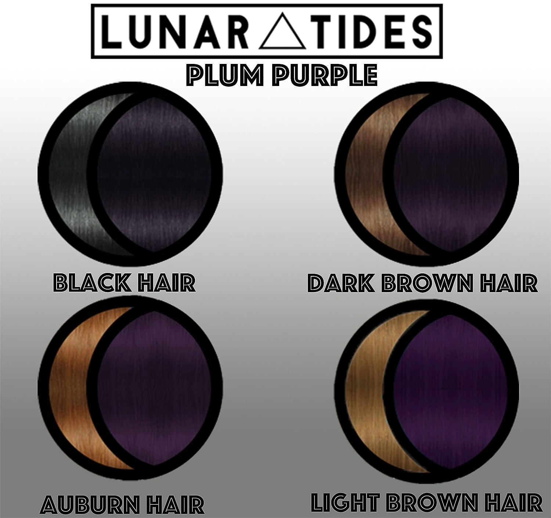 Amazon Com Lunar Tides Hair Dye Plum Purple Semi Permanent Vegan
