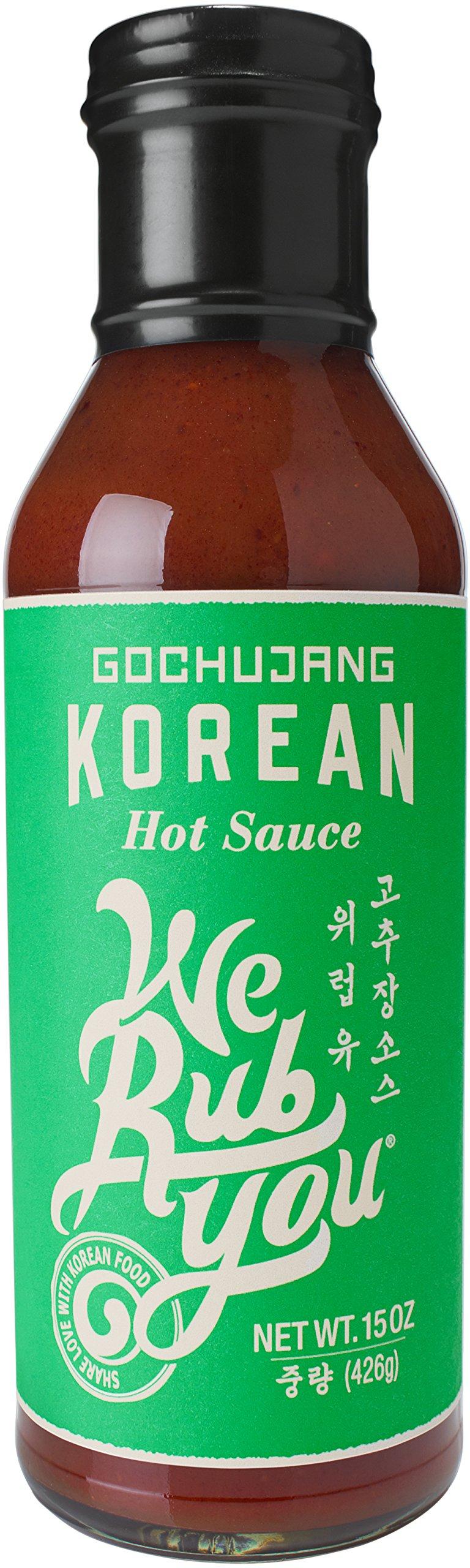 Gochujang Korean Hot Sauce We Rub You 15 oz (Pack of 1)
