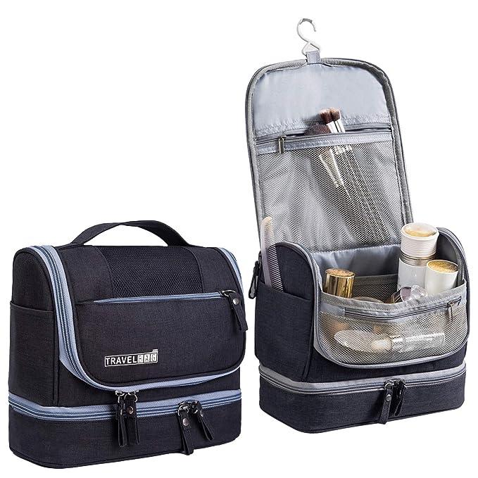 804d8278a2d Hanging Travel Toiletry Bag for Men and Women - Multifuncation Waterproof  Cosmetic Bag or Organizer Bag