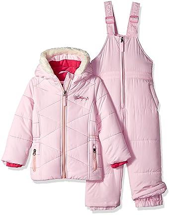 76fe392ba Amazon.com  Weatherproof Girls  Toddler  Snow Suit  Clothing