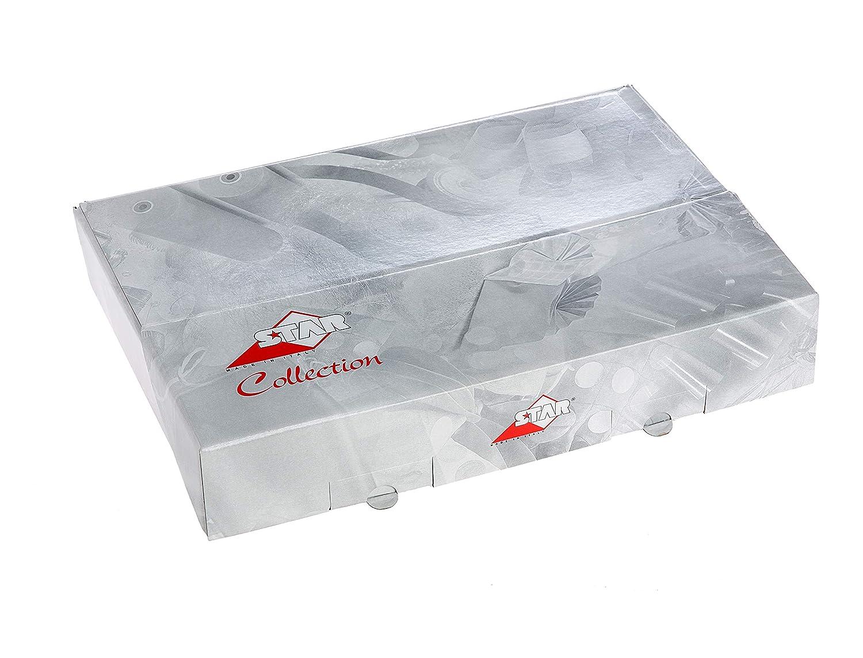 Motivi Natale Amazing Pack Scatola da 50 Fogli Piegati Metallizzata 70 x 100 cm Carta Regalo
