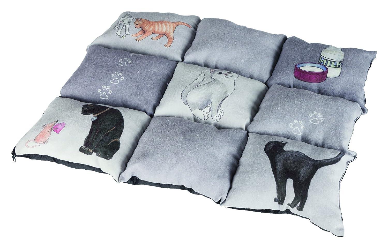 Trixie Colchoneta para Gatos Mascotas - Alfombra para Gatos Manta ...