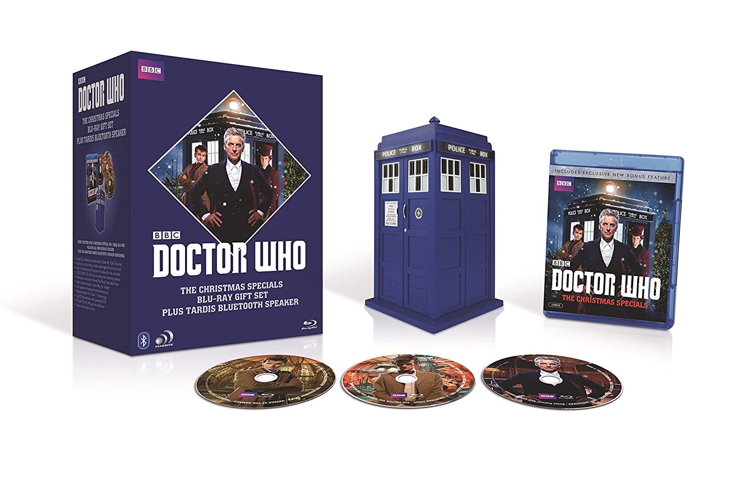 Amazon.com: Doctor Who: Christmas Specials Giftset with Tardis ...