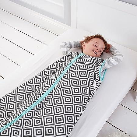 Tommee Tippee GRO Saco de dormir Grobag, 6-10 años, 2.5 TOG, Diamantes de azabache