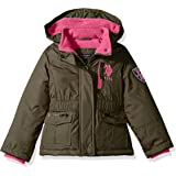 U.S. Polo Assn. Big Boys' Outerwear Jacket (More Styles Available), Clssic NVY B, 10/12