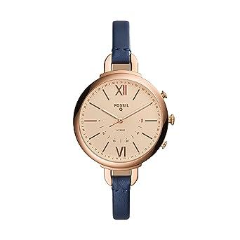 Amazon.com: Fossil Q de la mujer Annette azul Smartwatch ...