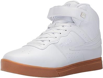 Fila Men's Vulc 13 MID Plus 2 Walking Shoe, WhiteSilverGum
