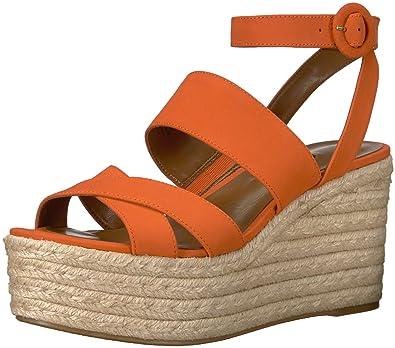 7278c756dd8 Nine West Women s KUSHALA Nubuck Wedge Sandal