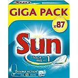 Sun Tout En 1 Tablettes Lave-Vaisselle Standard 87 Lavages