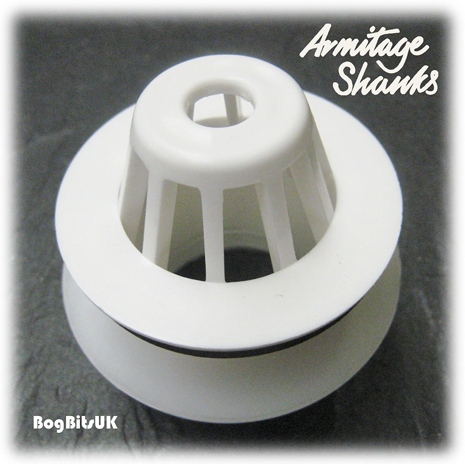 Armitage Shanks S885067 1-1/2' 40mm Domed Urinal Strainer Waste White