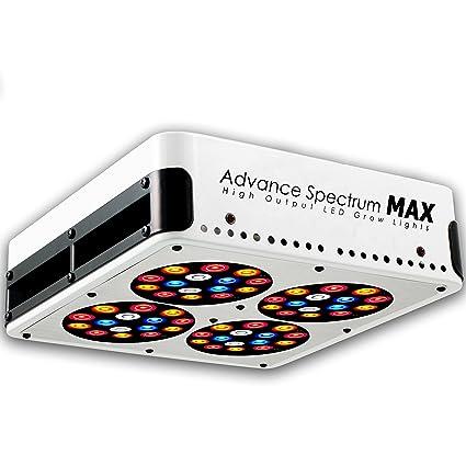 amazon com s180 advance spectrum max led grow light kit plant
