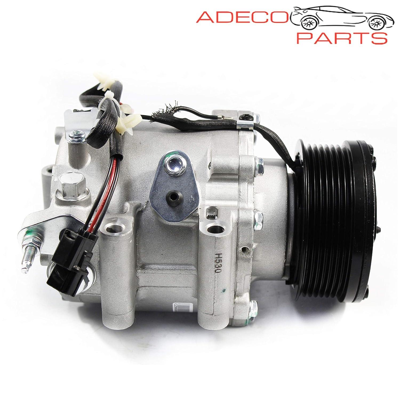 AdecoAutoParts/© A//C Compressor for Honda Civic 2006 2007 2008 2009 2010 2011 1.8L 6512349 98555 1765X AC parts