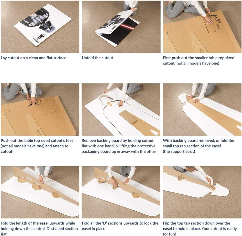 SC594 Elvis Black Leather Cardboard Cutout Standup