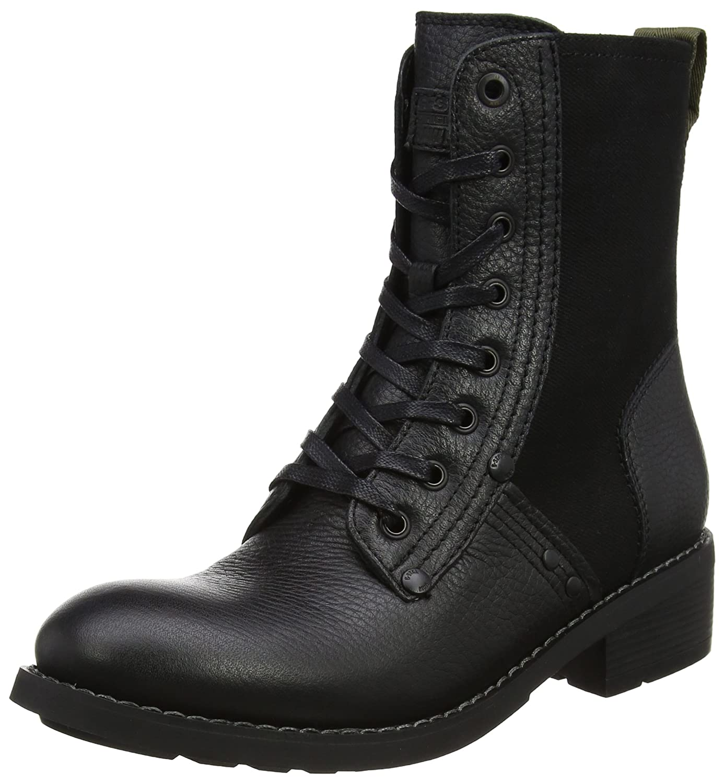 G-Star Raw Labour Boot, Botas Estilo Motero para Mujer40 EU Negro (Black)