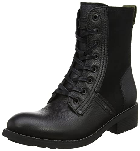 G-Star Raw Labour Boot, Botas Estilo Motero para Mujer, Negro (Black), 39 EU G-Star