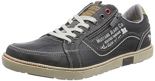 Mustang Hombre Zapatos con cordones gris, (grau) 4073-302-200: Amazon.es: Zapatos y complementos