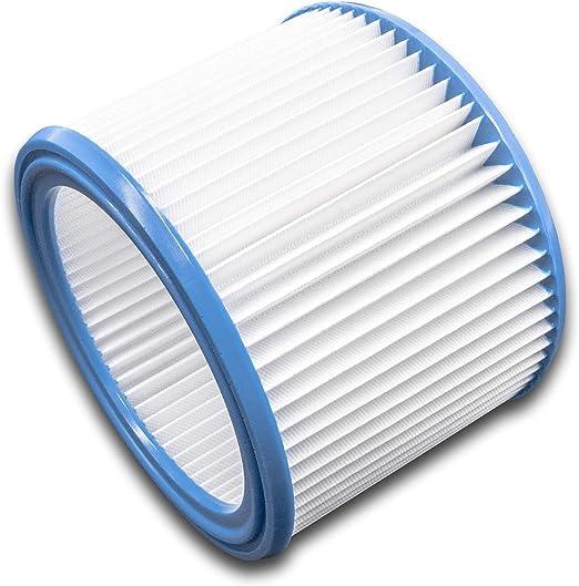 vhbw Filtro redondo, filtro plisado para aspiradoras, robots aspiradores, aspiradores multiusos Stihl SE 100, SE 50, SE 60, SE 60 C, SE 60 E.: Amazon.es: Hogar