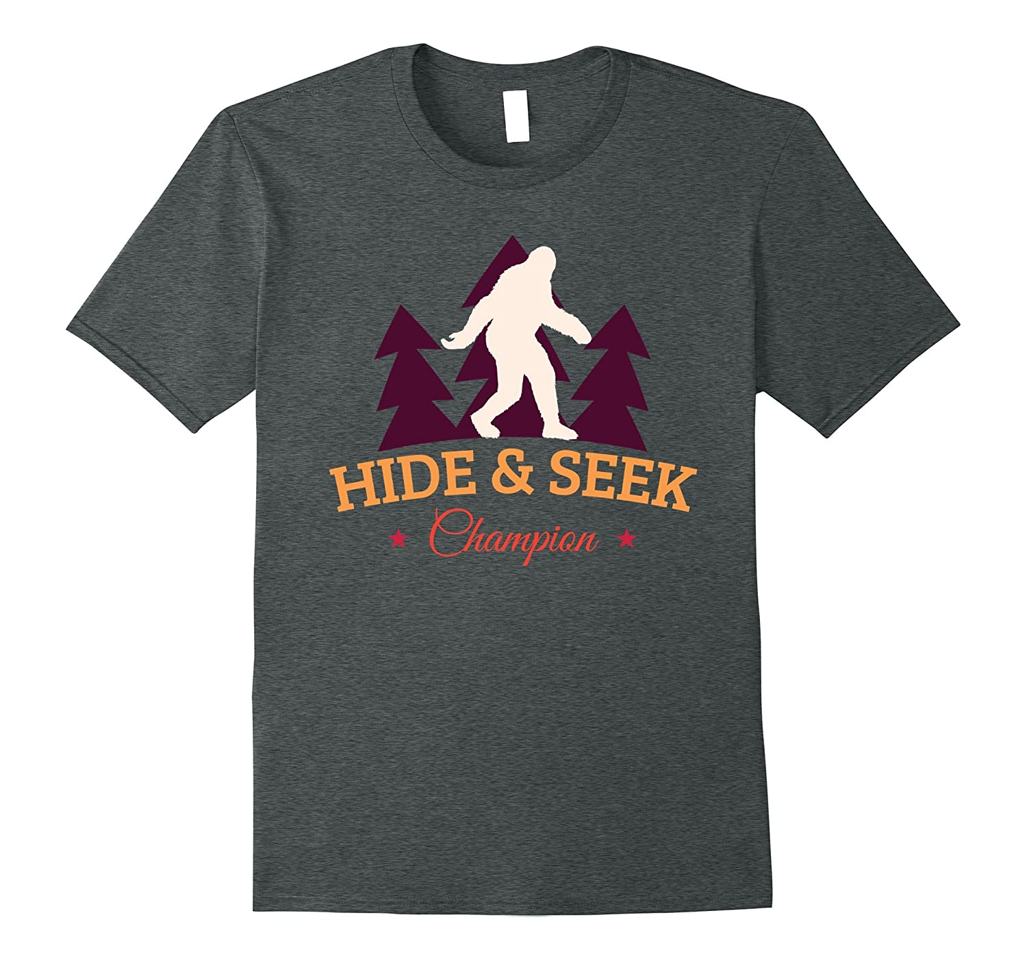 Bigfoot Hide and Seek Champion Sasquatch TShirt-TH