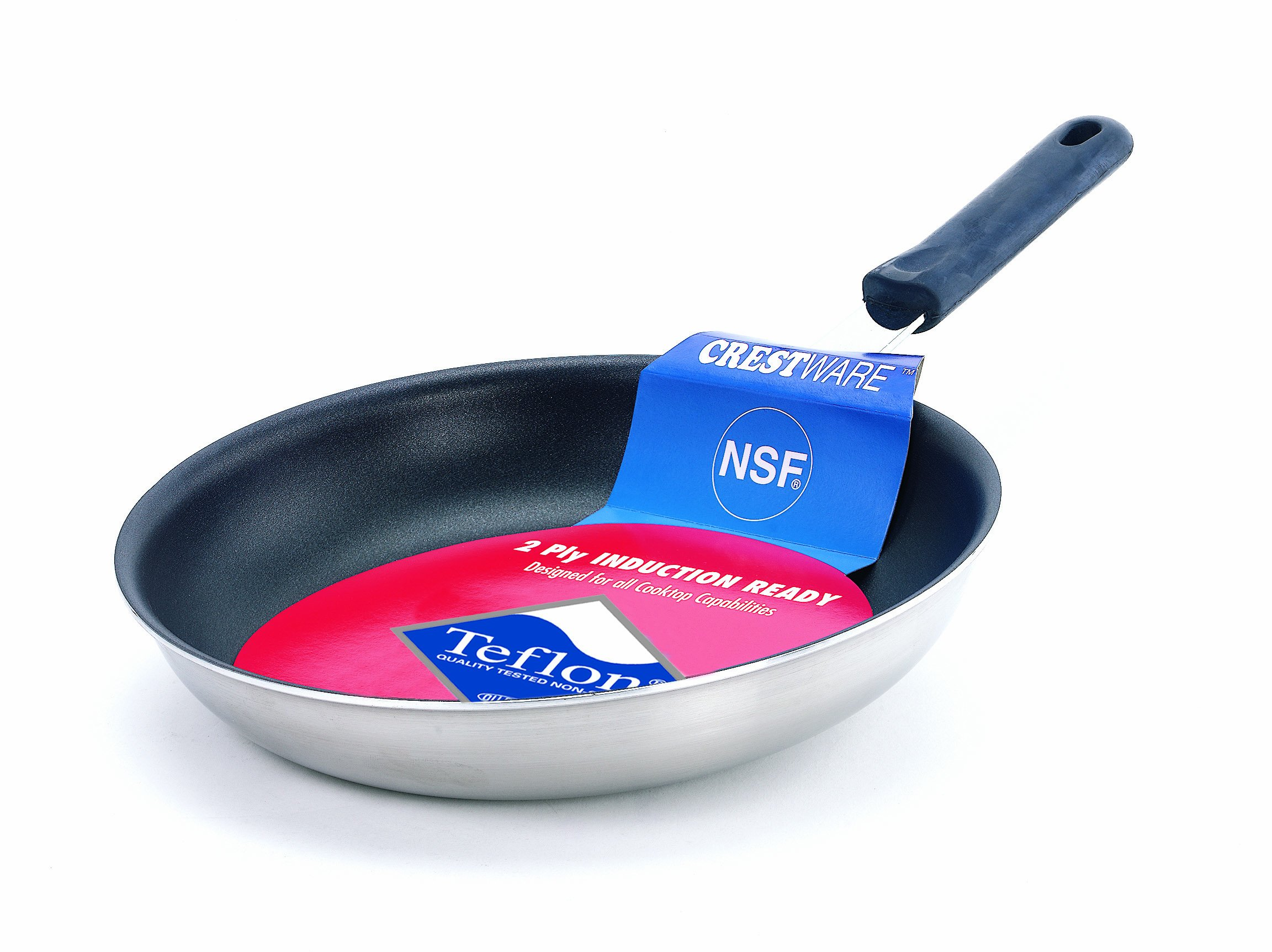 Crestware 8-1/2-Inch Coated Induction Efficient Fry Pan