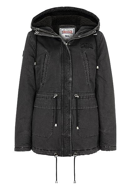 Amazon.com: Lonsdale - Chaqueta de invierno para mujer: Clothing