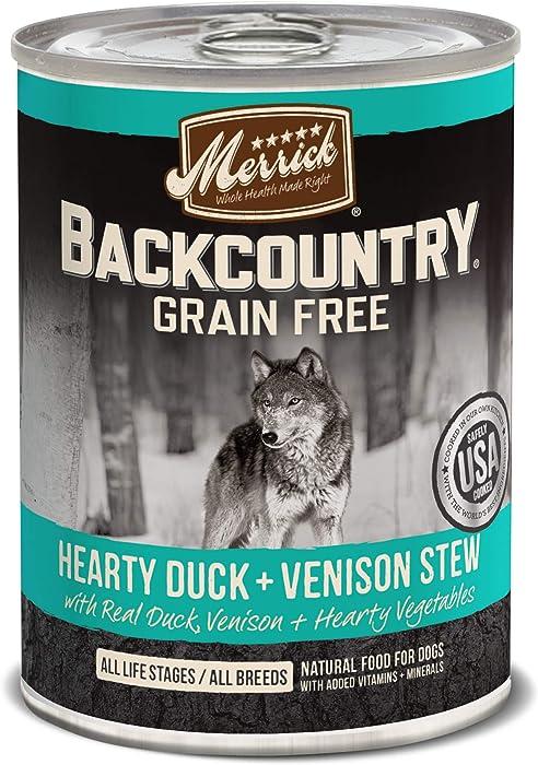 The Best Merrickgrain Free Venison Dog Food