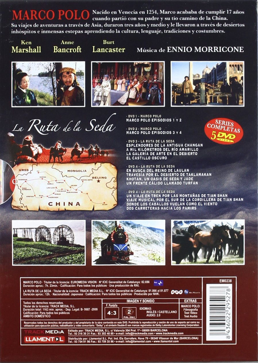 Pack: Marco Polo + La Ruta De La Seda [DVD]: Amazon.es: Anne ...