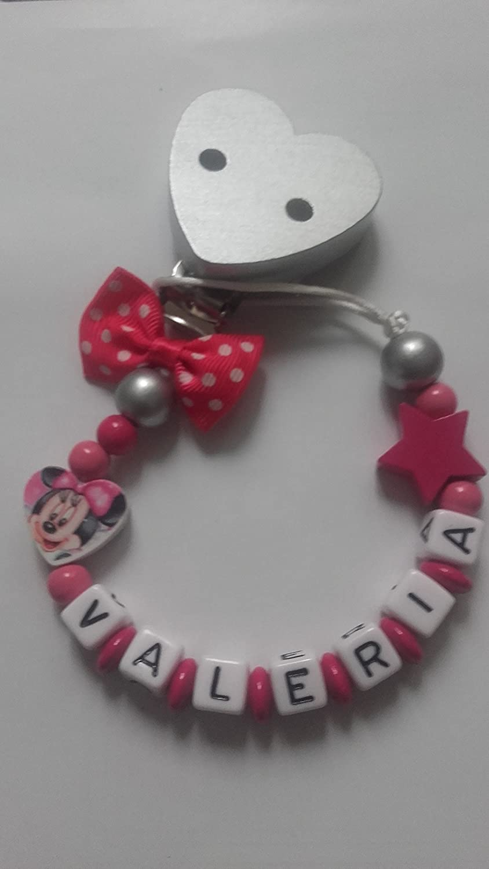 Sujetachupetes personalizado Mickey